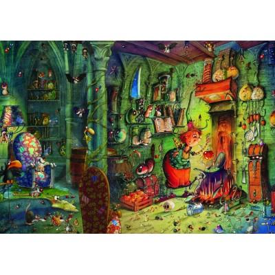 Puzzle  Grafika-T-00582 François Ruyer - In der Küche!
