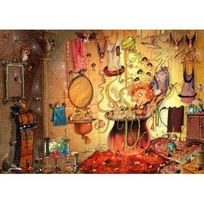 Puzzle  Grafika-T-00589 François Ruyer - Das Bad