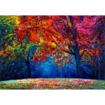 Puzzle  Grafika-T-00616 Herbstwald
