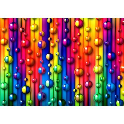Puzzle  Grafika-T-00620 Bunte Blasen