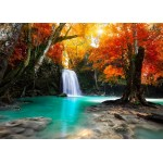 Puzzle  Grafika-T-00629 Deep Forest Waterfall
