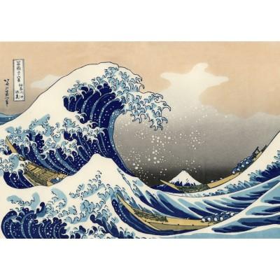 Puzzle  Grafika-T-00638 Hokusai - Die große Welle vor Kanagawa