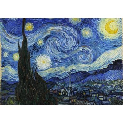 Puzzle Grafika-T-00646 Vincent Van Gogh - Sternennacht, 1889