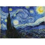 Puzzle  Grafika-T-00648 Vincent Van Gogh - Sternennacht, 1889