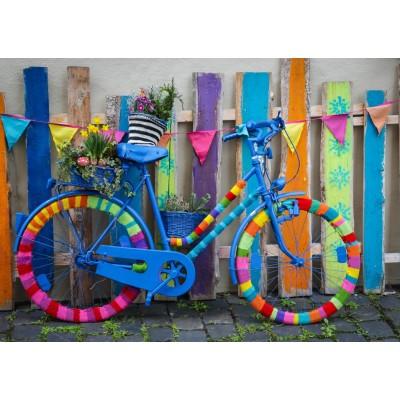 Puzzle  Grafika-T-00649 Mein schönes buntes Fahrrad