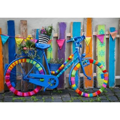 Puzzle Grafika-T-00650 Mein schönes buntes Fahrrad