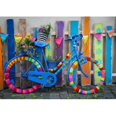 Puzzle Grafika-T-00652 Mein schönes buntes Fahrrad