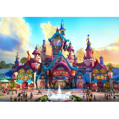Puzzle Grafika-T-00672 Fairyland