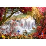Puzzle  Grafika-T-00677 Deep Forest Waterfall