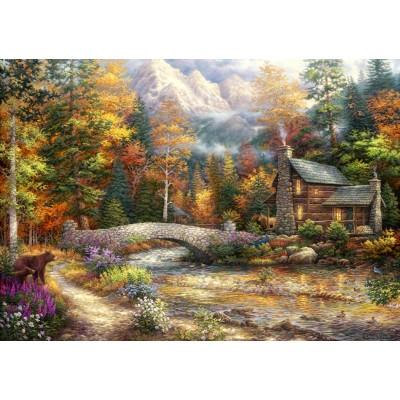 Puzzle Grafika-T-00703 Chuck Pinson - Call of the Wild