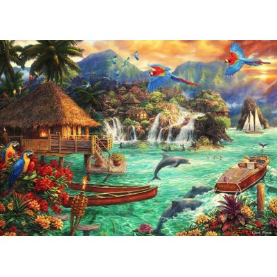 Puzzle  Grafika-T-00710 Chuck Pinson - Island Life
