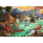Puzzle  Grafika-T-00712 Chuck Pinson - Island Life