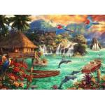 Puzzle  Grafika-T-00713 Chuck Pinson - Island Life