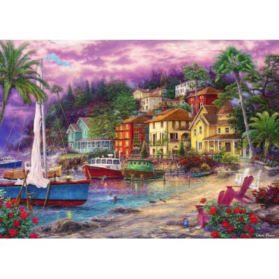 Puzzle  Grafika-T-00721 Chuck Pinson - On Golden Shores
