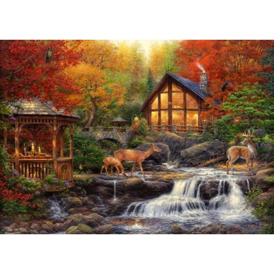 Puzzle Grafika-T-00736 Chuck Pinson - The Colors of Life