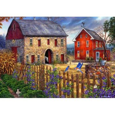 Puzzle  Grafika-T-00738 Chuck Pinson - The Bluebirds' Song