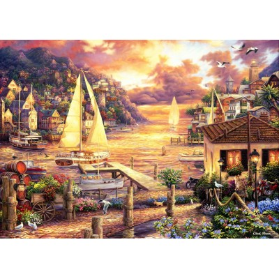 Puzzle Grafika-T-00753 Chuck Pinson - Catching Dreams