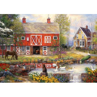 Puzzle  Grafika-T-00759 Chuck Pinson - Reflections On Country Living
