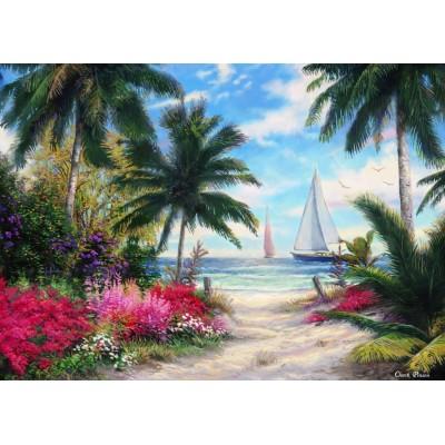 Puzzle Grafika-T-00770 Chuck Pinson - Sea Breeze Trail