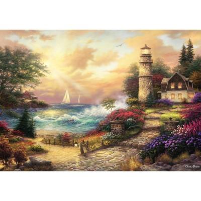 Puzzle Grafika-T-00772 Chuck Pinson - Seaside Dreams