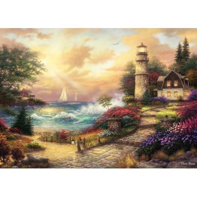 Puzzle Grafika-T-00774 Chuck Pinson - Seaside Dreams