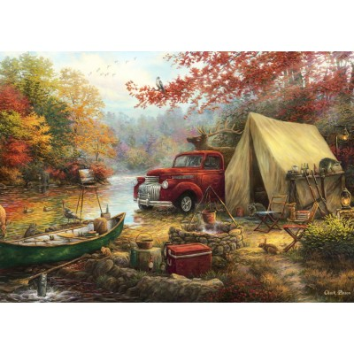 Puzzle  Grafika-T-00777 Chuck Pinson - Share the Outdoors