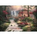 Puzzle  Grafika-T-00792 Chuck Pinson - Sierra River Falls