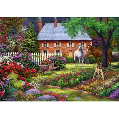 Puzzle Grafika-T-00815 Chuck Pinson - The Sweet Garden