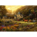 Puzzle  Grafika-T-00819 Chuck Pinson - The Golden Valley