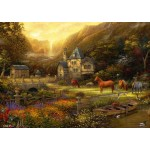 Puzzle  Grafika-T-00820 Chuck Pinson - The Golden Valley