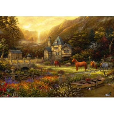 Puzzle  Grafika-T-00822 Chuck Pinson - The Golden Valley