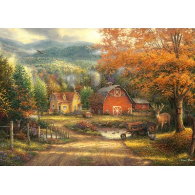 Puzzle  Grafika-T-00823 Chuck Pinson - Country Roads Take Me Home
