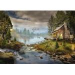 Puzzle  Grafika-T-00874 Die Fischerhütte