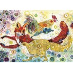 Puzzle  Grafika-T-00882 Sally Rich - Leaping Fox's