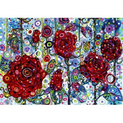 Puzzle  Grafika-T-00891 Sally Rich - Roses