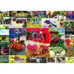 Puzzle  Grafika-T-00909 Collage - Fahrräder