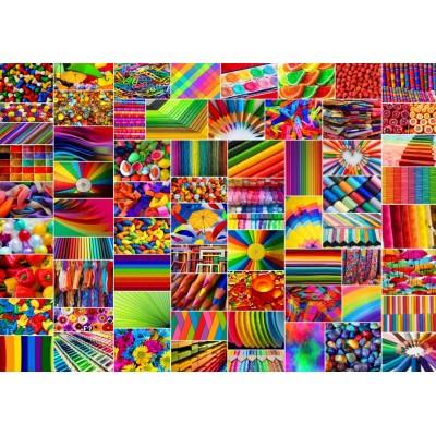 Puzzle Grafika-T-00916 Collage - Farben