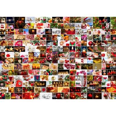 Puzzle Grafika-T-00922 Collage - Weihnachten