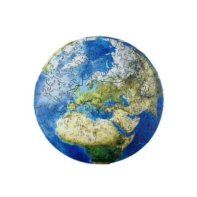 Harmandi-Puzzle-Creatif-90062 Holzpuzzle - Die Erde