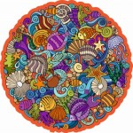 Harmandi-Puzzle-Creatif-90123 Holzpuzzle - The Marina Planet
