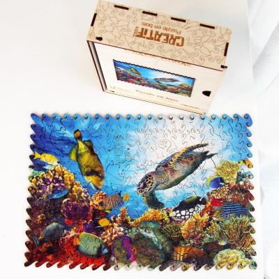 Harmandi-Puzzle-Creatif-90147 Holzpuzzle - Die Korallenoase
