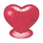 HCM-Kinzel-59161 3D Crystal Puzzle - Herz Rot
