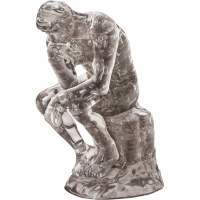 HCM-Kinzel-59165 3D Crystal Puzzle - The Thinker