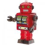 HCM-Kinzel-59166 3D Crystal Puzzle - Roboter Rot