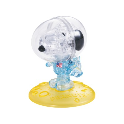 HCM-Kinzel-59172 3D Crystal Puzzle - Snoopy Astronaut