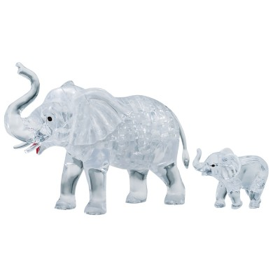 HCM-Kinzel-59176 3D Crystal Puzzle - Elefantenpaar