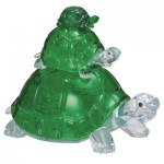 HCM-Kinzel-59185 3D Crystal Puzzle - Schildkröten