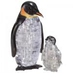 HCM-Kinzel-59187 3D Crystal Puzzle - Pinguine