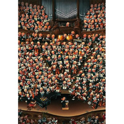 Heye-08660 Loup Puzzle: Orchestra