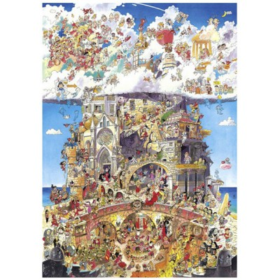 Puzzle Heye-29118 Prades: Paradise and Hell